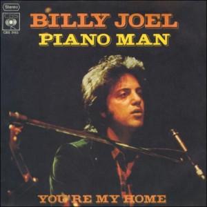 Billy Joel - Piano Man single cover