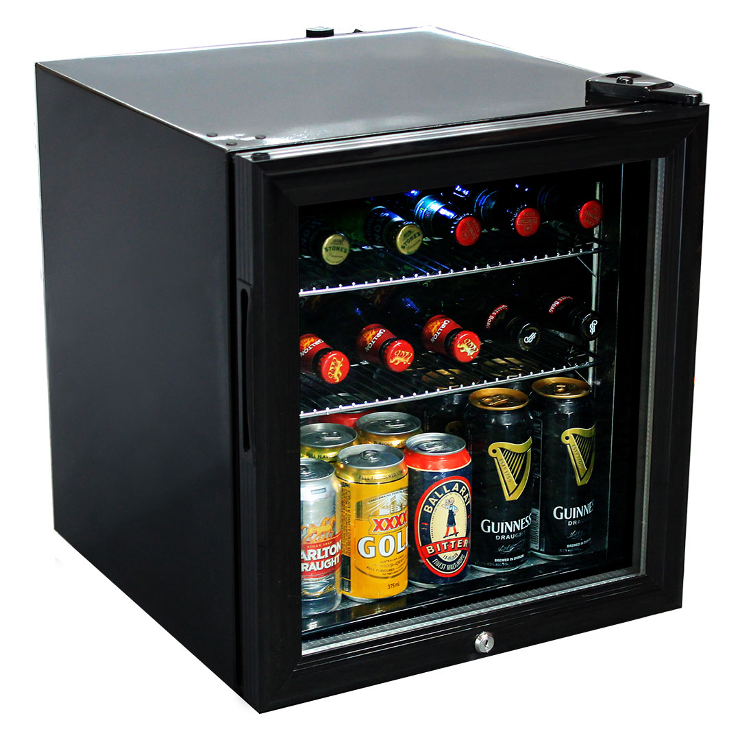 how to build a bar with mini fridge