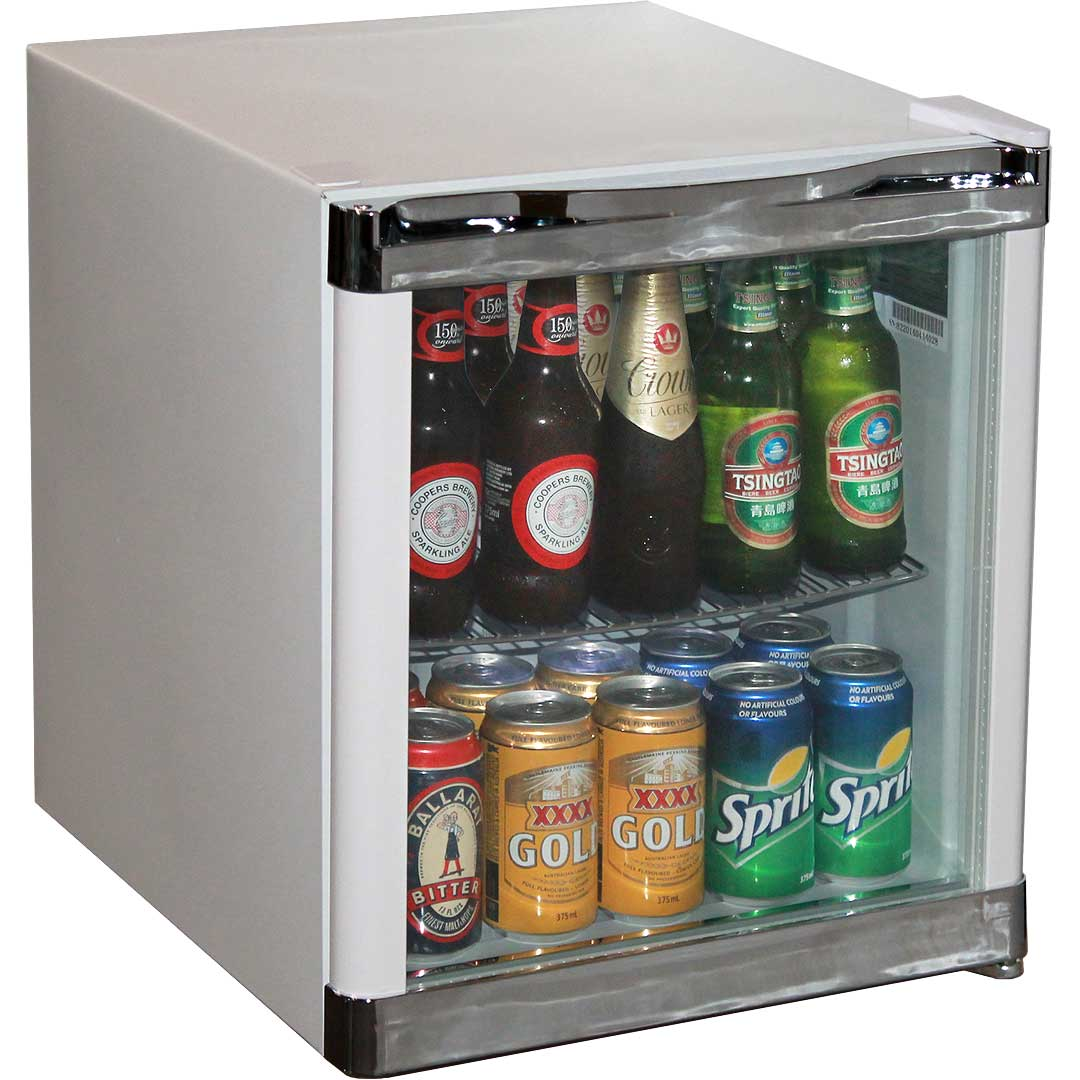 mini glass fridge perfect for full custom branding design one for a