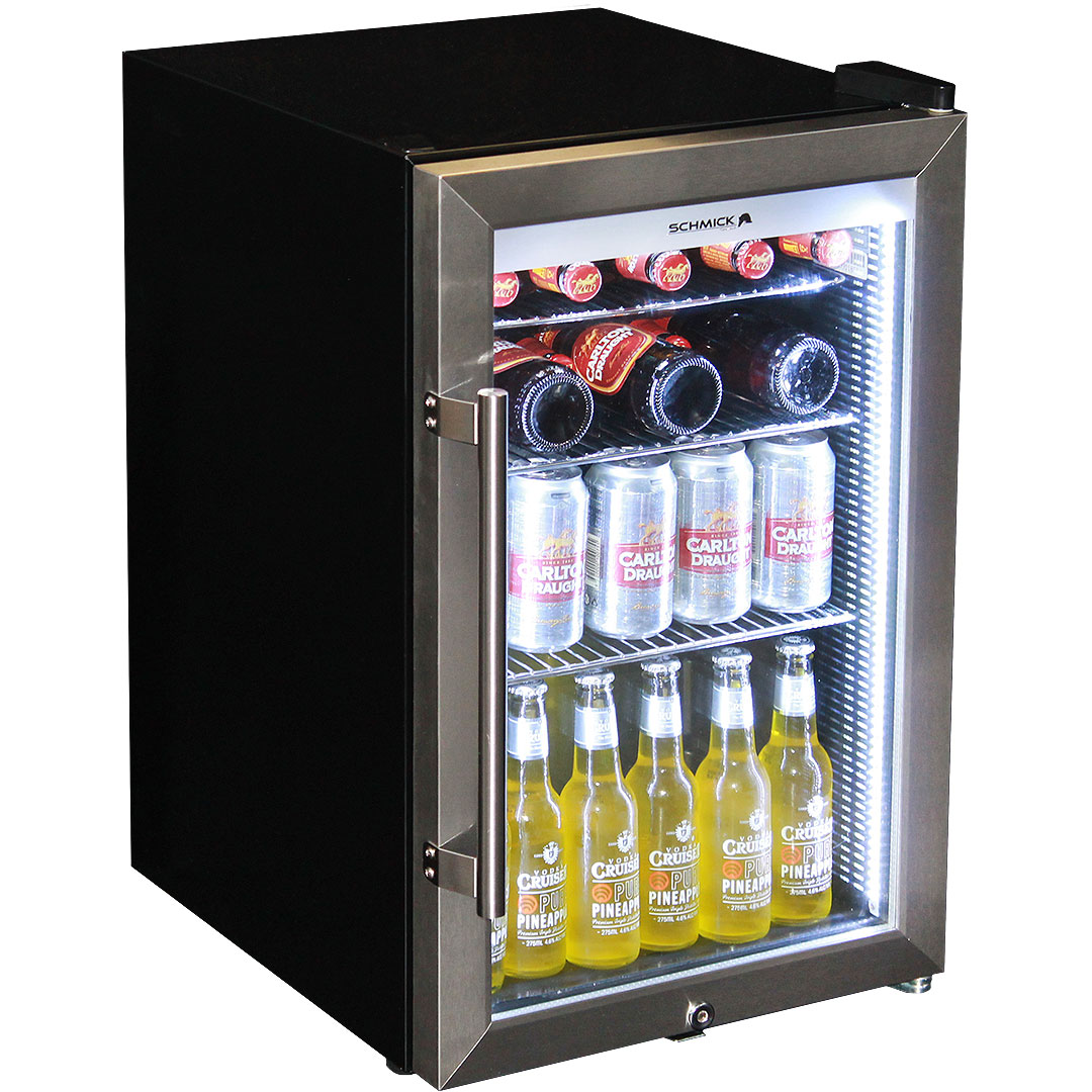 Refrigerator Options Unique Light Up Branded Glass Door Bar Fridge Great Gift Idea