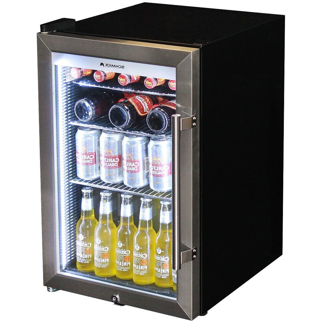 Alfresco Bar Fridge Outdoor Triple Glazed Glass Door And