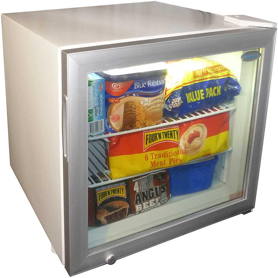 Mini Glass Door Freezer