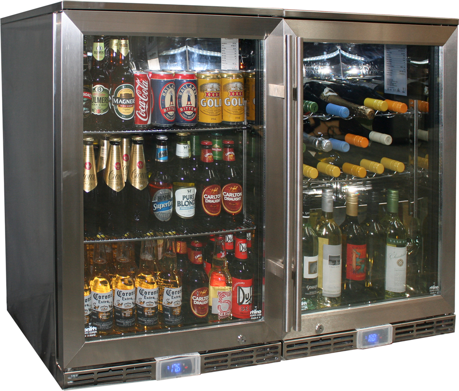 Alfresco Glass Door Beer And Wine Fridge