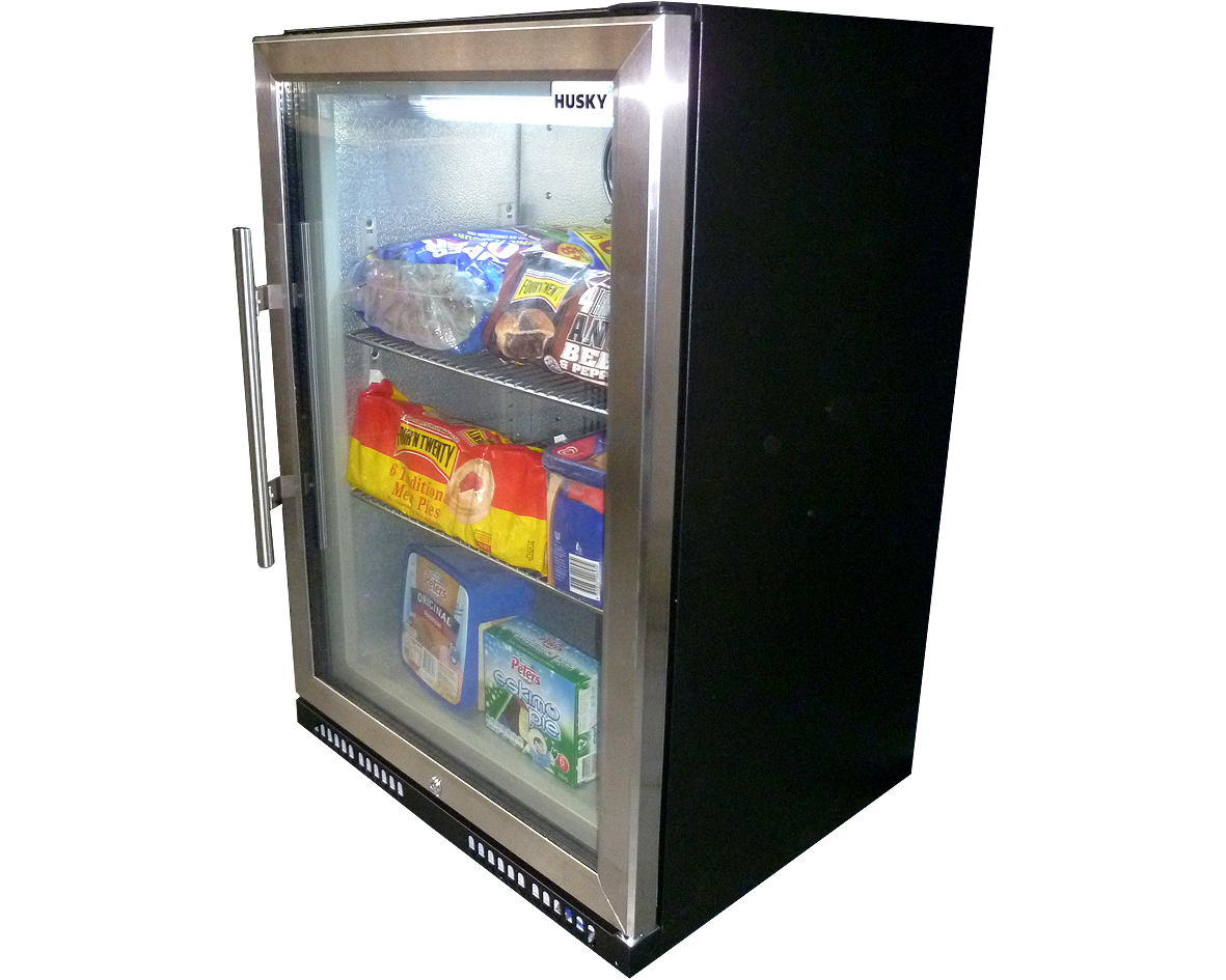 Husky Glass Door Freezer