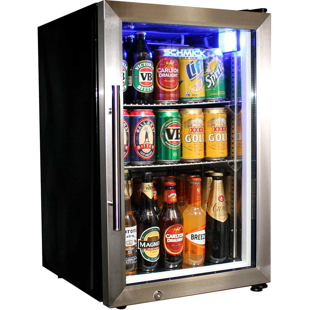 Mini Glass door Bar Fridge