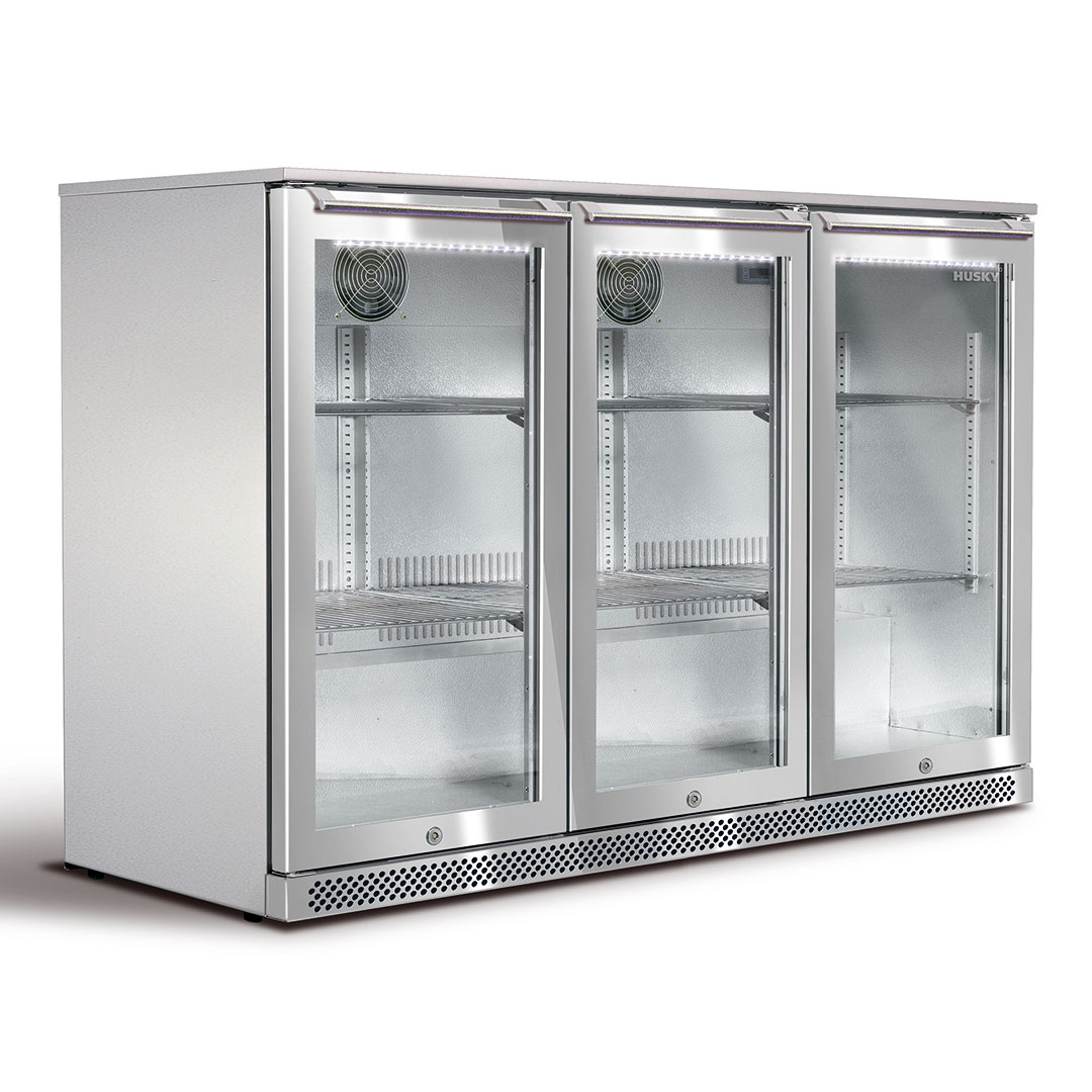 Husky 3 Door Alfresco Fridge