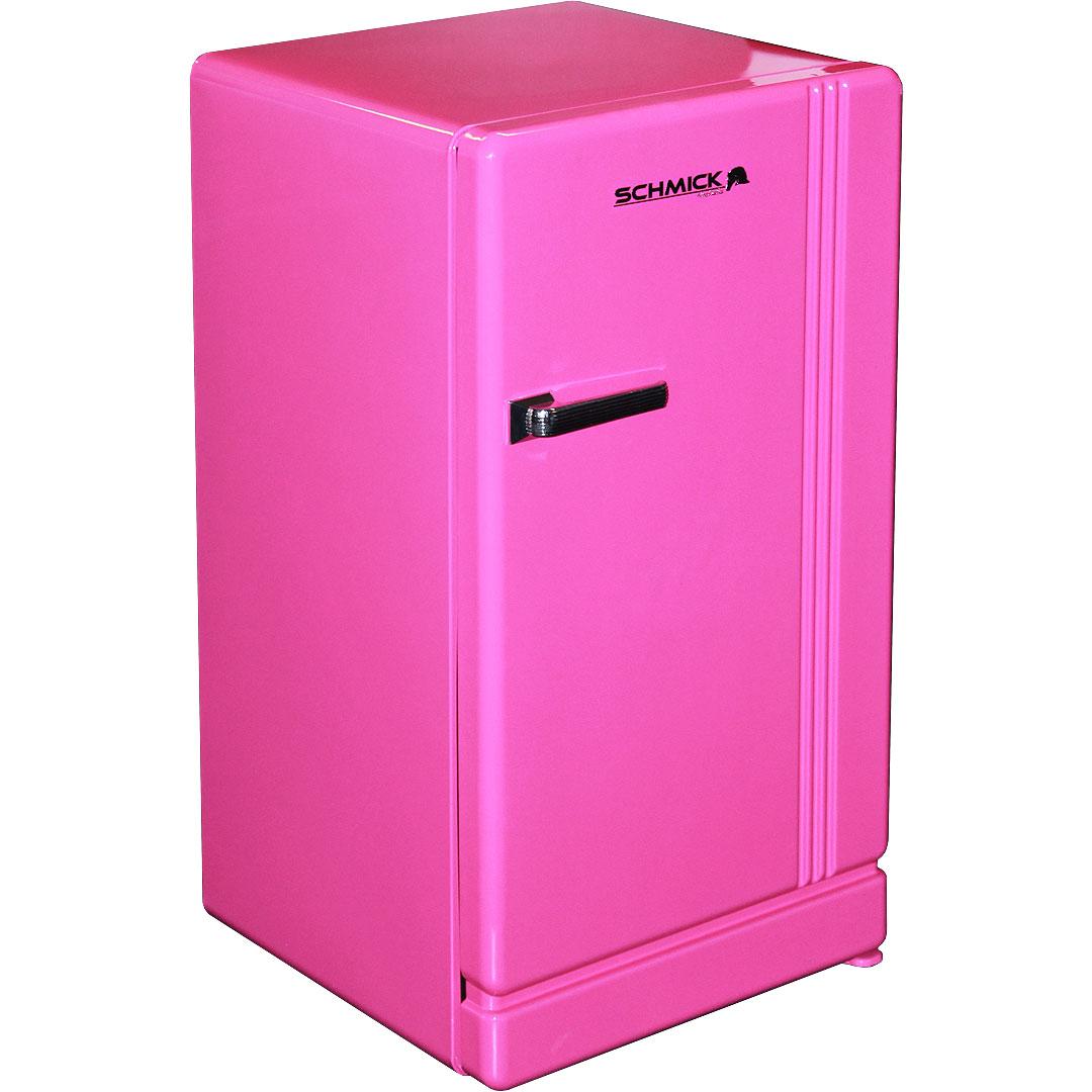 University Fridge Retro Pink Bar Refrigerator, Nostalgic ...