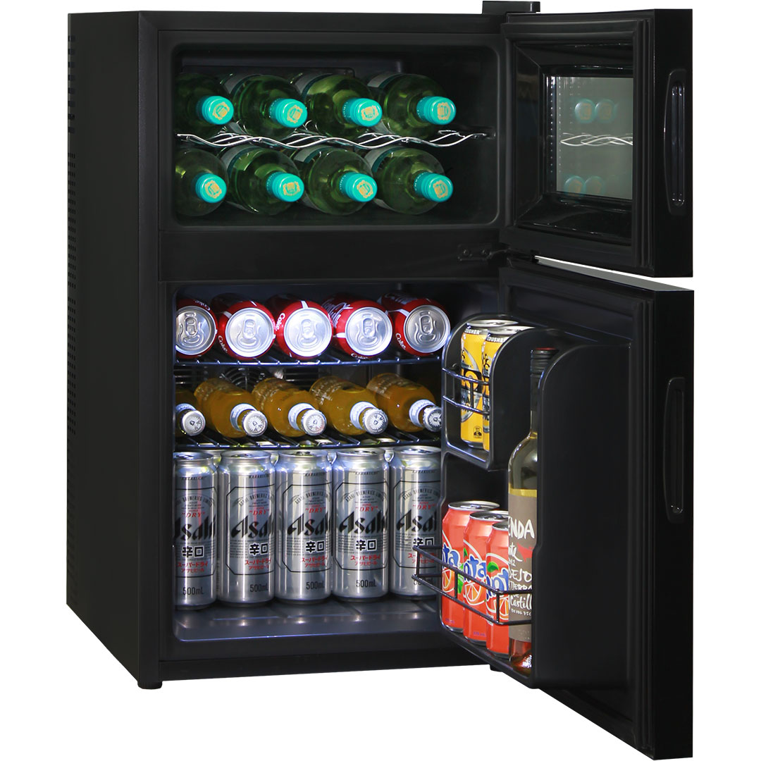 64 Litre Wine And Beer Fridge Low Noise