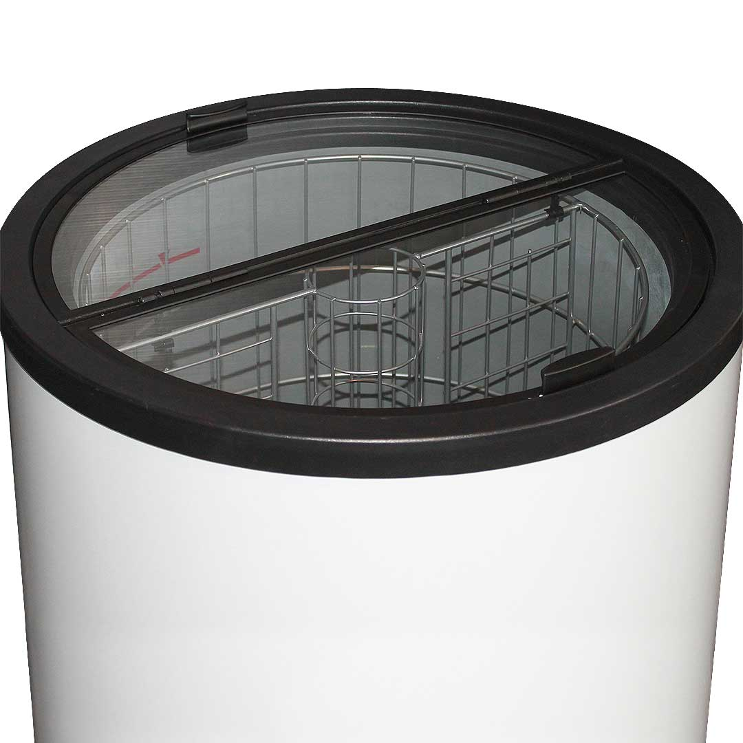 Can Shaped Barrel Fridge 77litre Dellware Brand With
