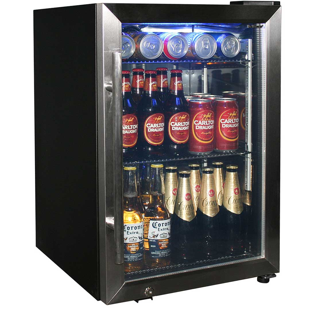 Tropical Rated Glass Door Drinks Chiller Refrigerator Triple Glazed