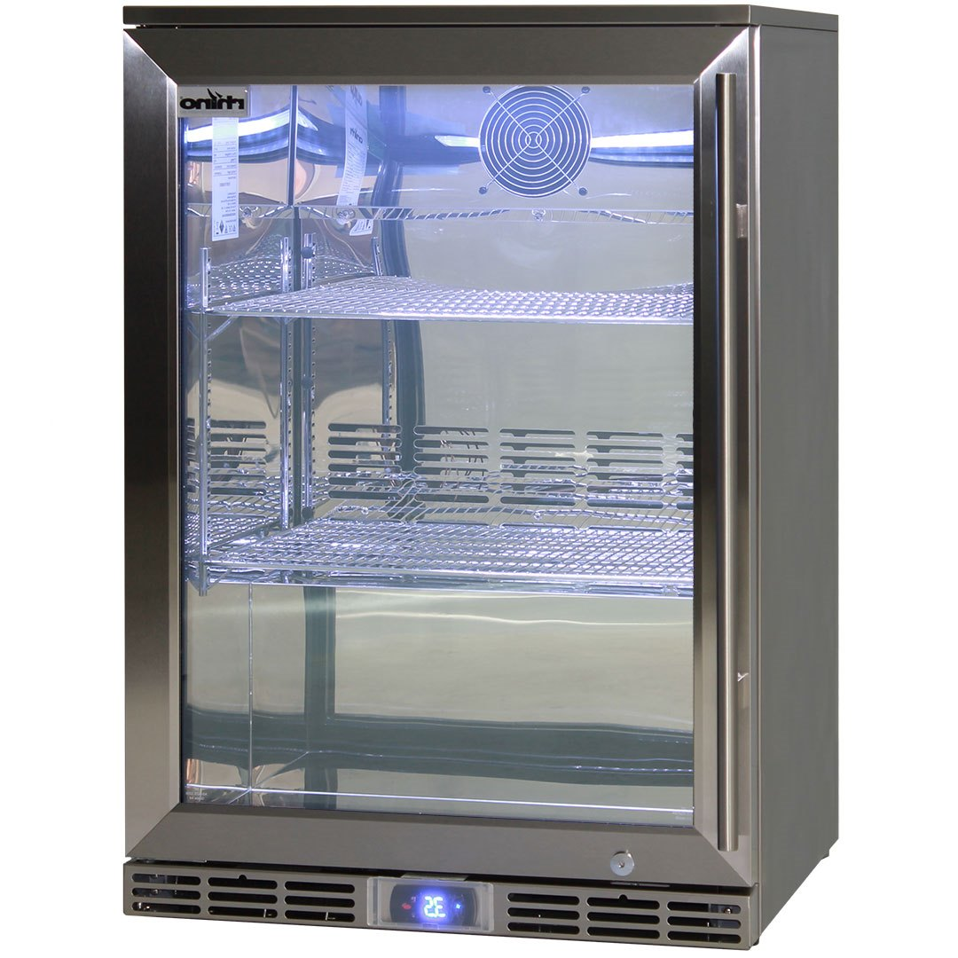 Rhino Fridges Are All 304 S/S With Polished 304 S/S Interior, Grill And All Exterior Important Parts Are Also S/S