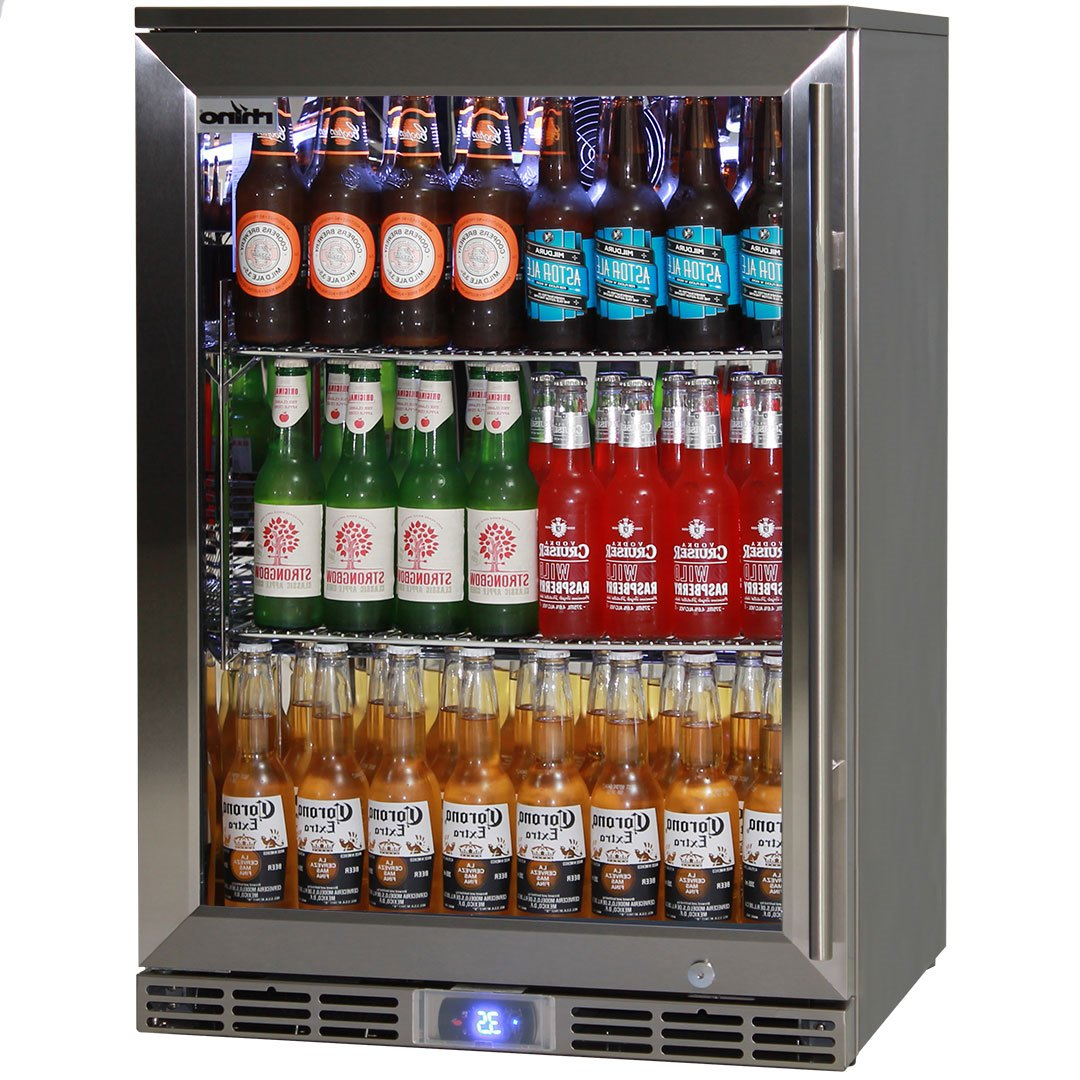 Rhino Alfresco Kitchen Glass Door Outdoor Bar Fridge Great For Cold Beer In Hot Climates