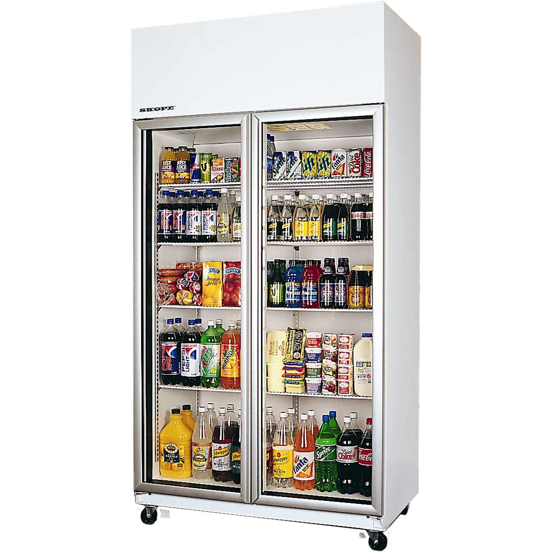 Skope Commercial Glass Door Bar Fridge Model TME1000