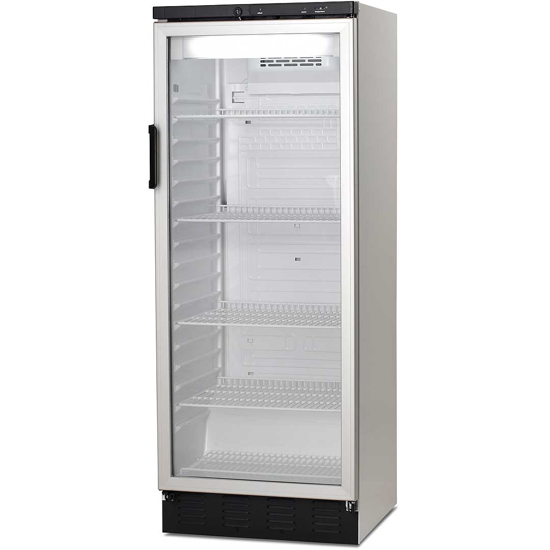 3df4ed00 Vestfrost Commercial Bar Fridge With Glass Door and Lock 306Litre Model  FKG-311 front