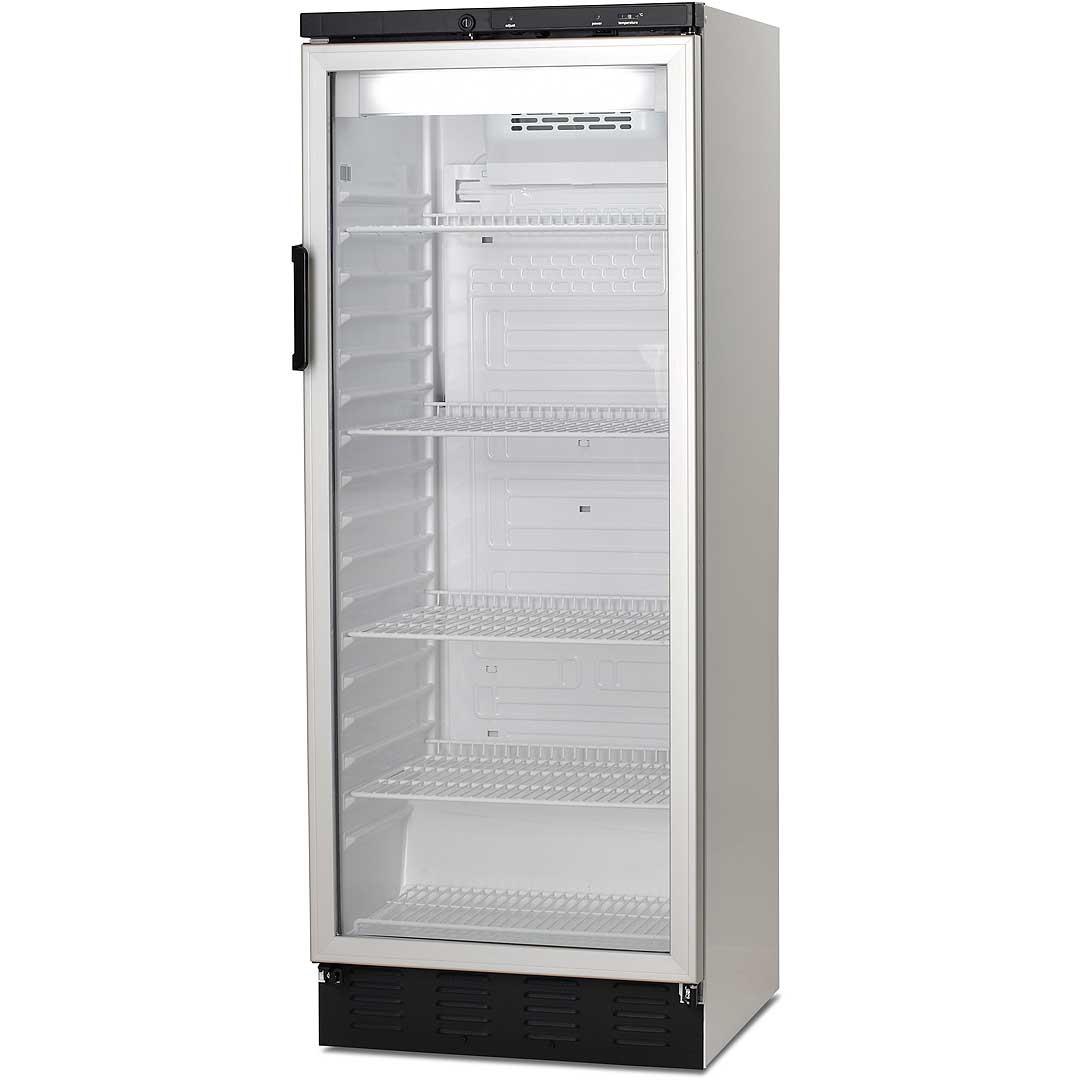 Upright Glass Door Commercial Refrigerator Vestfrost