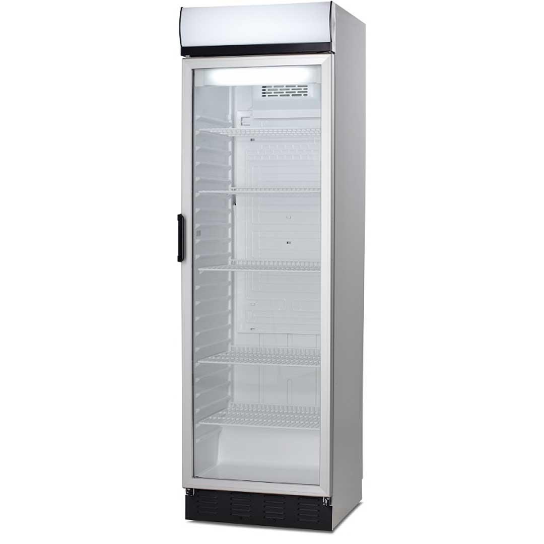 Upright commercial glass door bar fridge - Vestfrost from Denmark FKG410