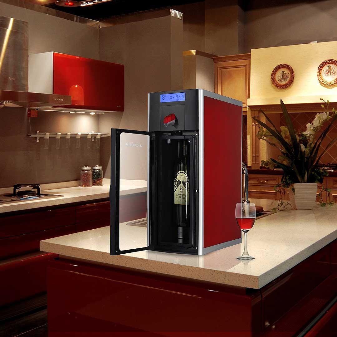 1 Bottle Capacity Wine Fridge Preservation Dispensing Unit
