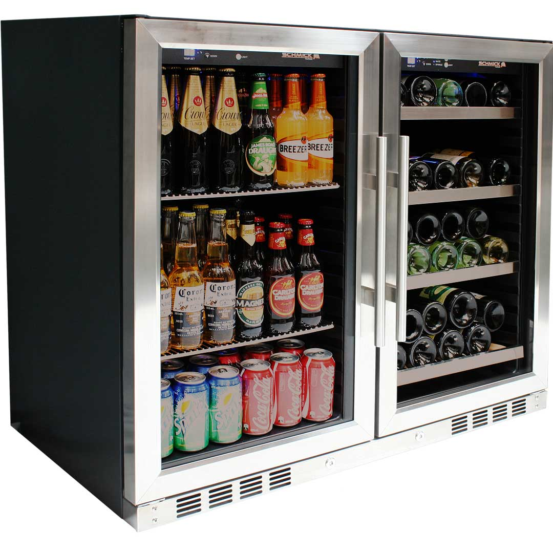 Bar Fridges Australia Schmick Wine And Beer Combo With Lg
