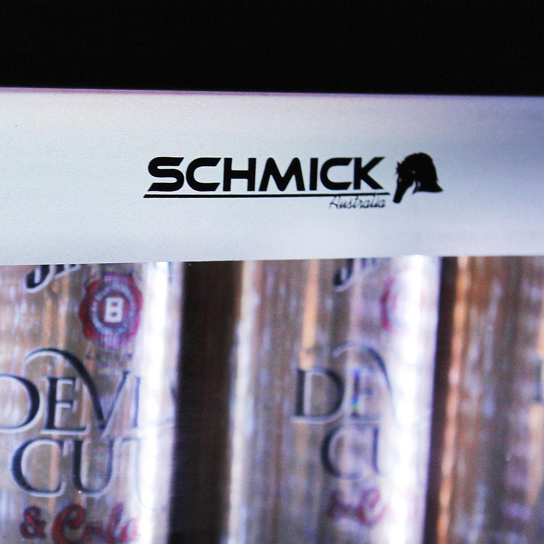 Outdoor Alfresco Bar Fridge Triple Glazed Glass Door And Lock Schmick