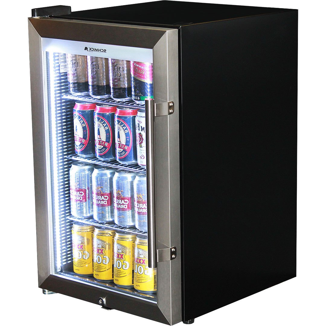 Glass door fridge kitchen - Outdoor Alfresco Bar Fridge Triple Glazed Glass Door And Lock