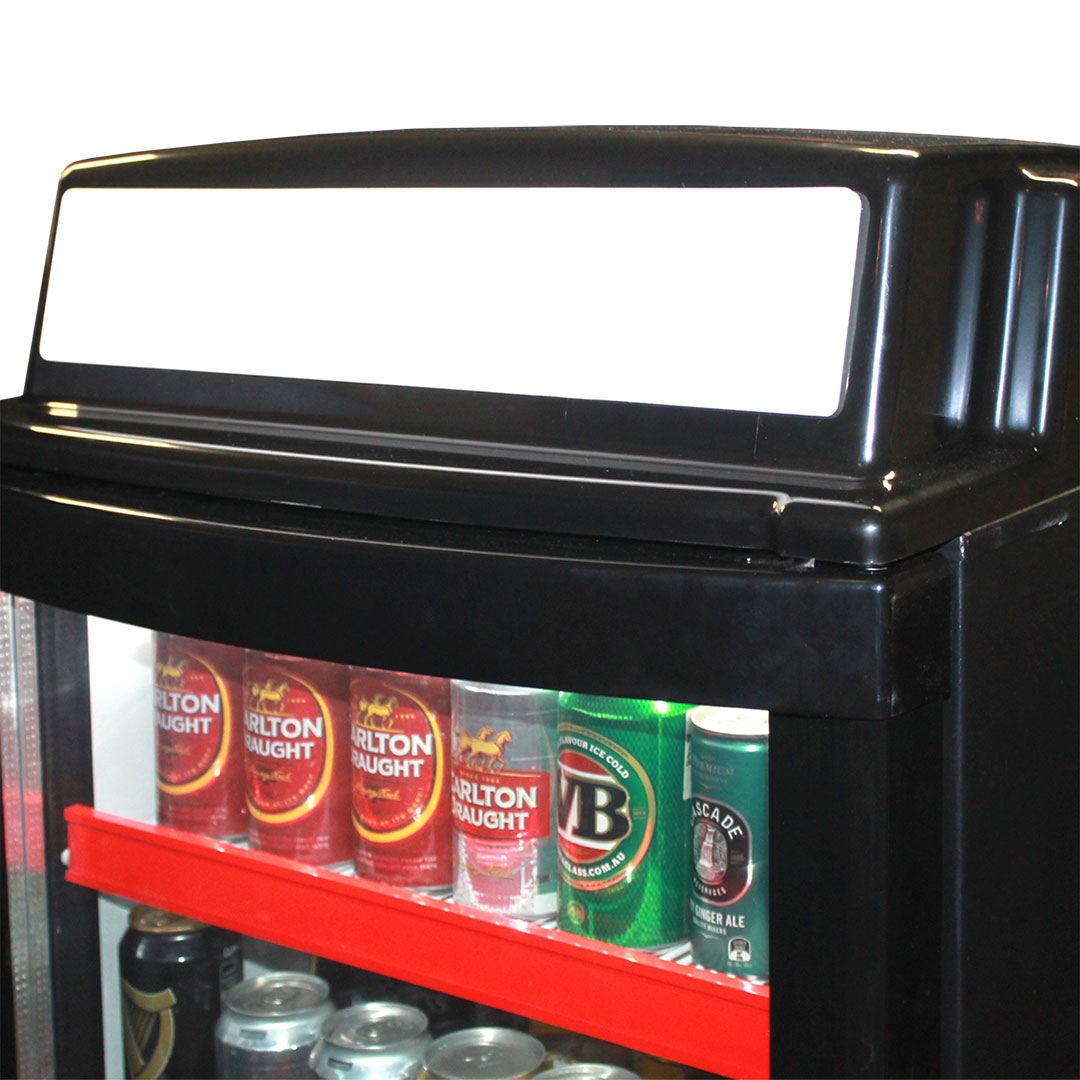 Upright Glass Door Bar Fridge Dellware Lightbox