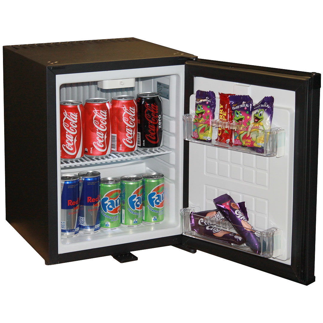 Silent Mini Bar Fridge With Lock And Reversible Door