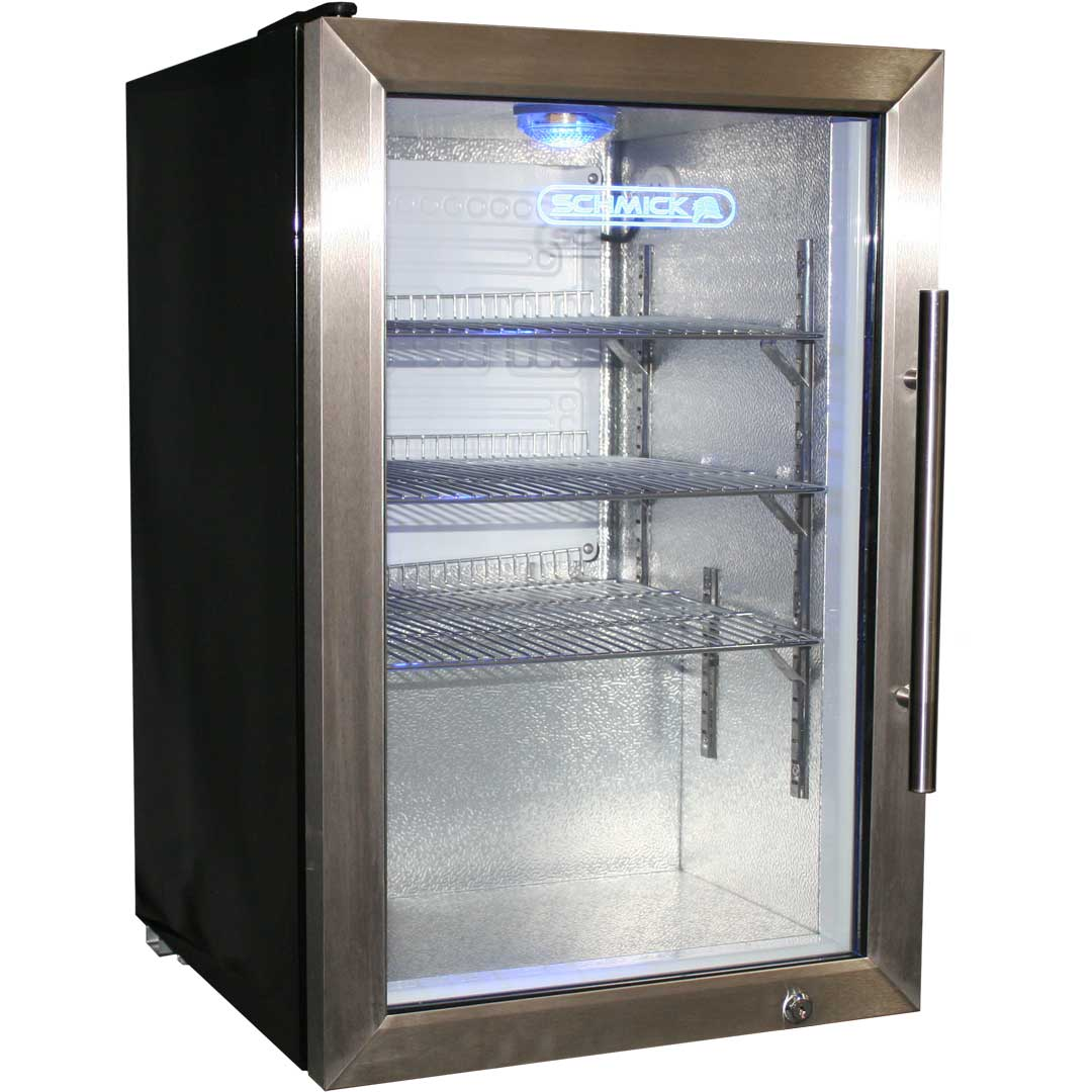 Glass Door Drinks Beer Fridge Tropical 100Litre