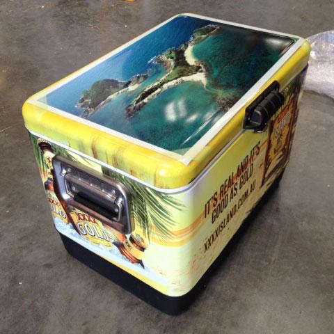 Xxxx Gold Island Ice Box Ex Promotion Brand New
