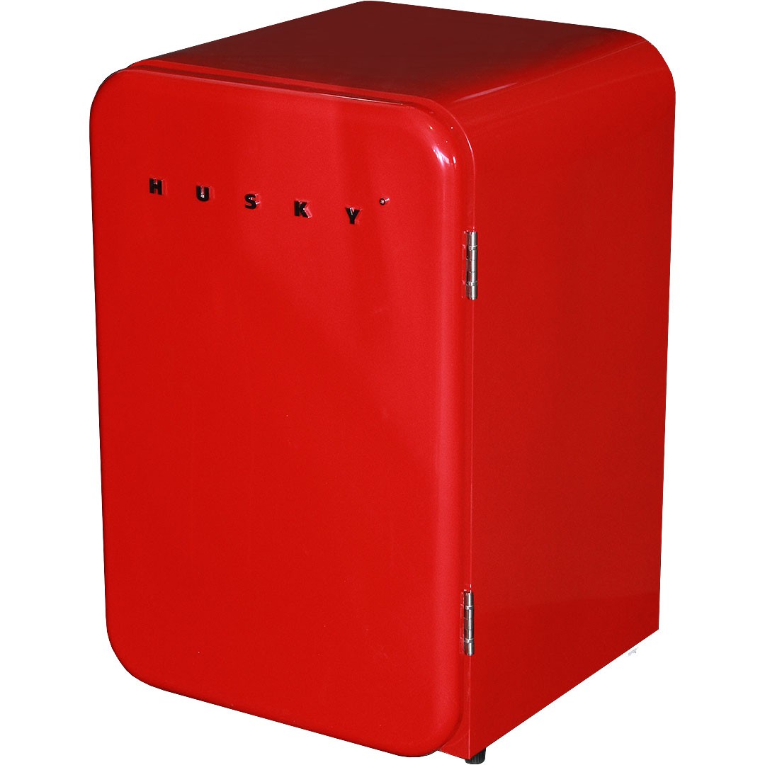 Husky Red Retro Bar Fridge
