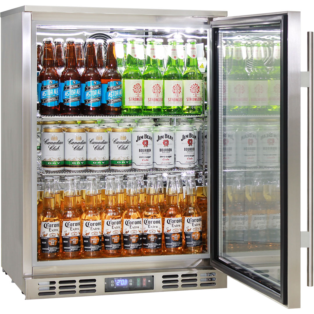 Rhino 1 Door Heated Glass Door Bar Fridge - Front Venting, Brand Parts