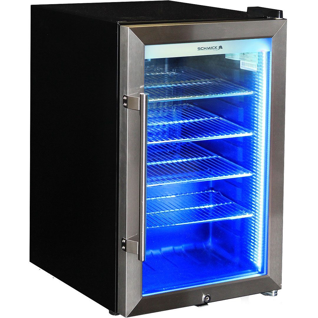 Amazing Outdoor Alfresco Bar Fridge Triple Glazed Glass Blue Led Available