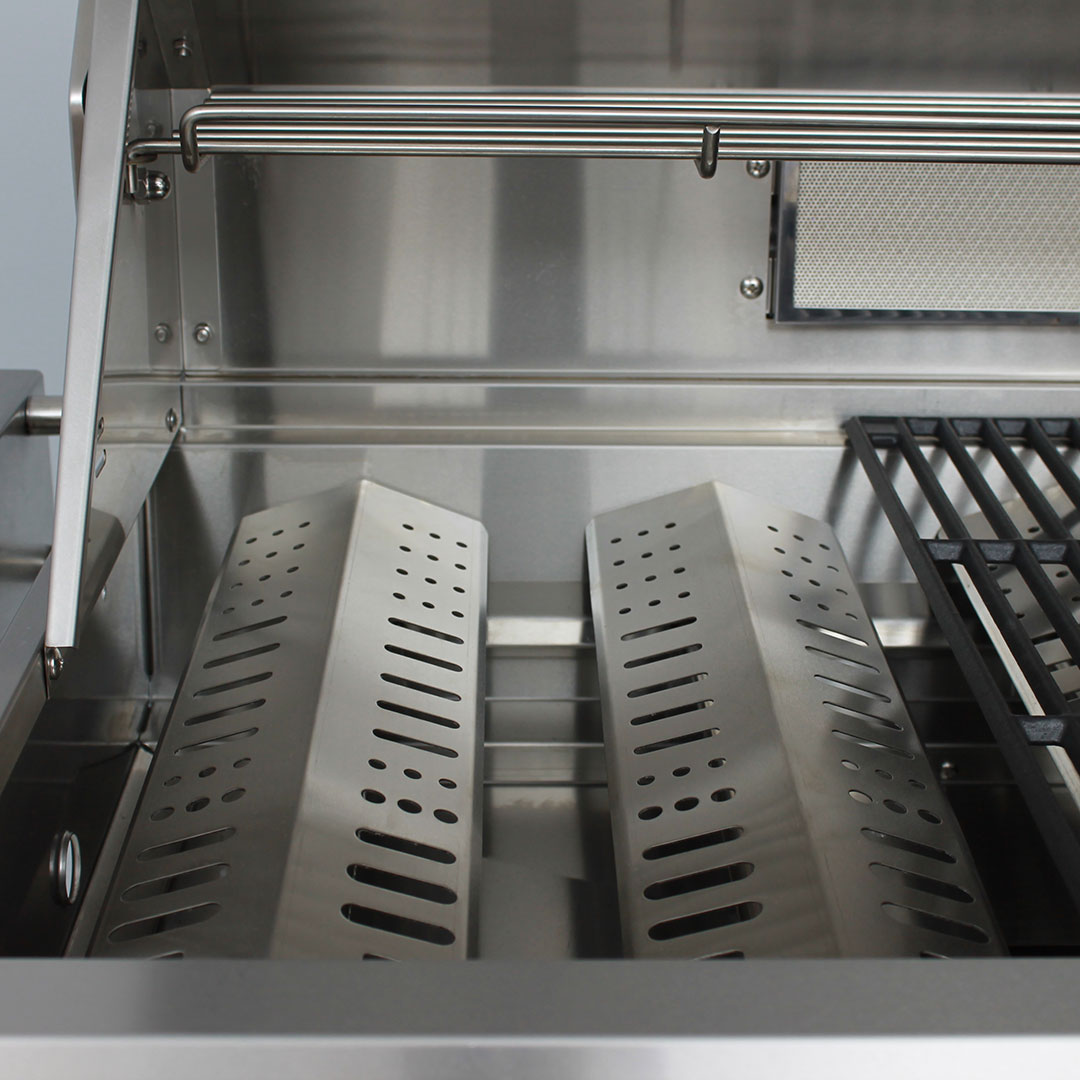 Marine Grade Stainless 316 S/S BBQ Reflectors To Stop Fat On Burners