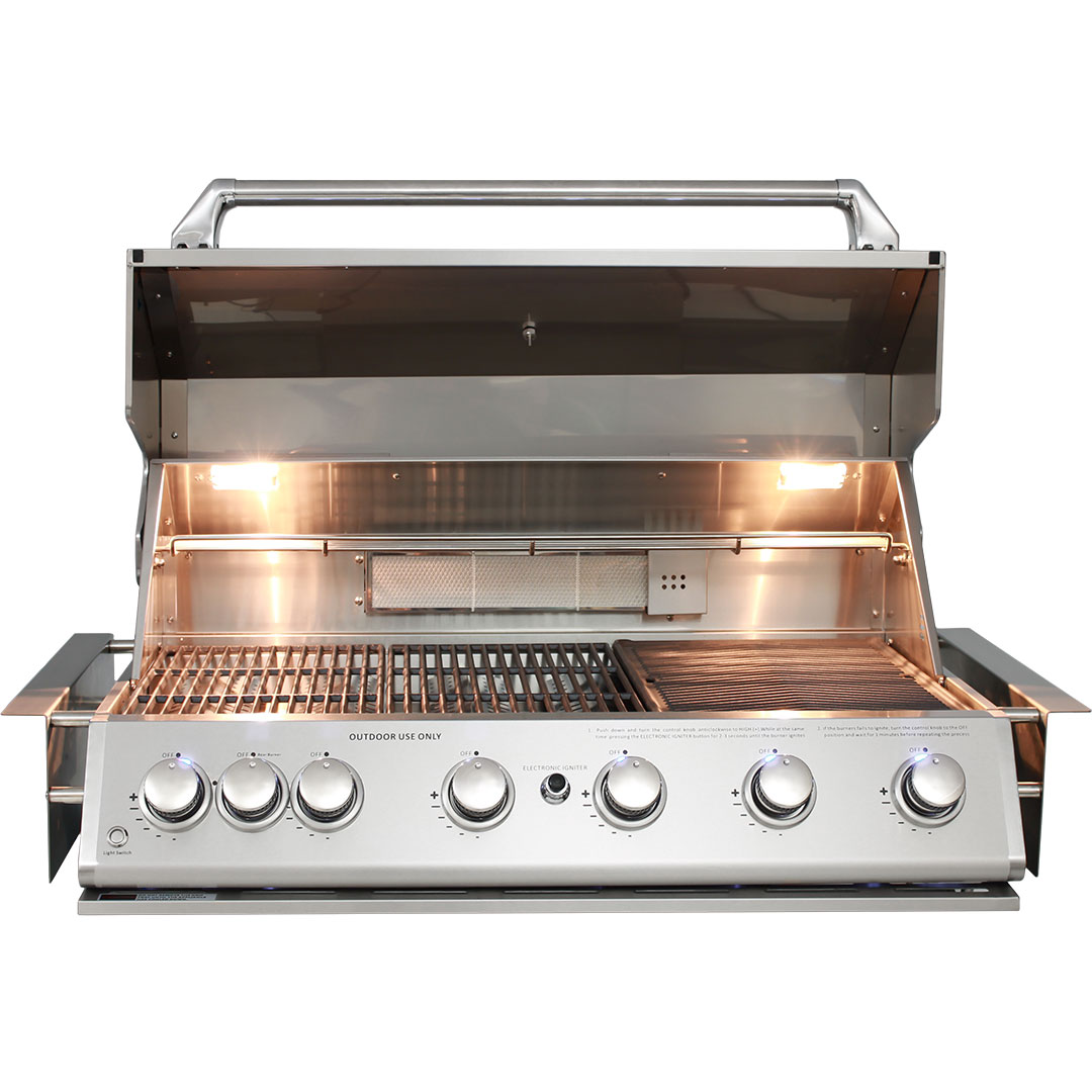 Marine Grade Stainless 316 S/S BBQ Halogen Cooking Lights