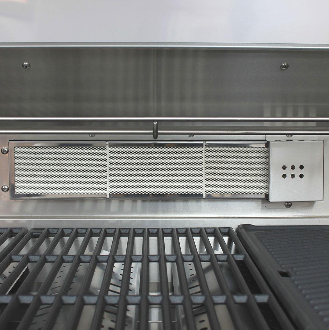 Marine Grade Stainless 316 S/S BBQ Rear Infrared Burner