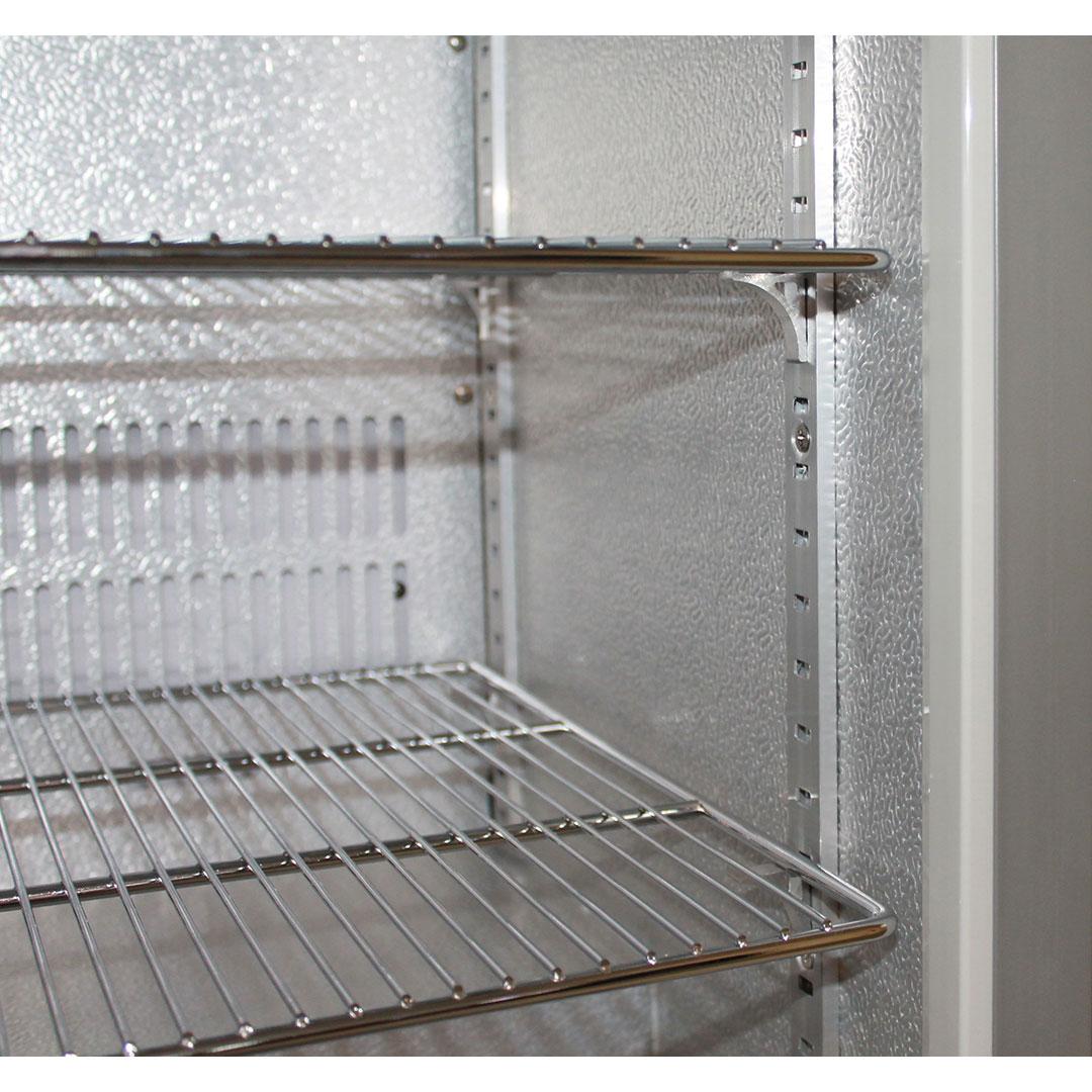 Husky Bar Fridge Heavy Duty Chromed Shelves