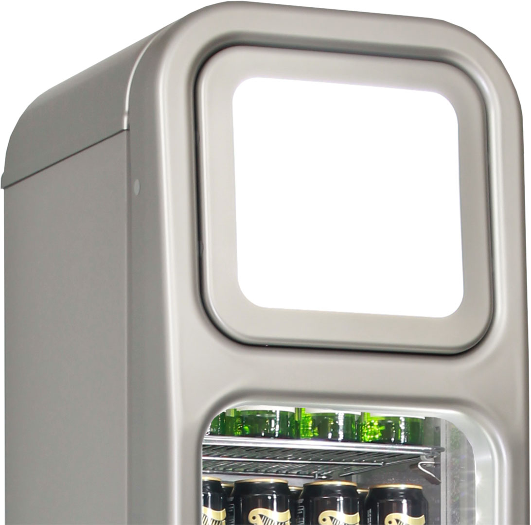 Skinny Tall Bar Fridge - We Can Fully Brand The Unit In Your Own Design, Great Gift!