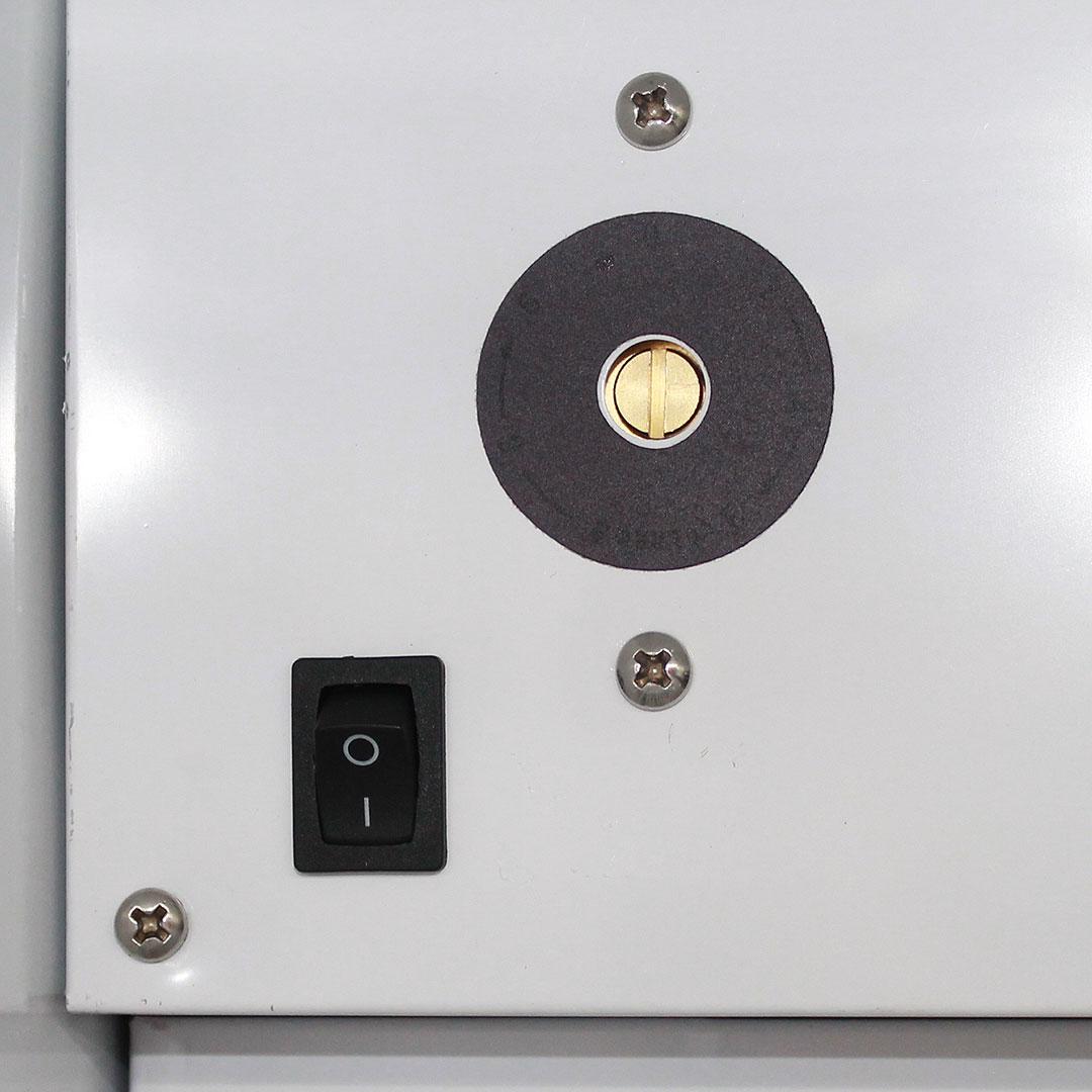 Upright Glass Door Bar Fridge Dellware Thermostat