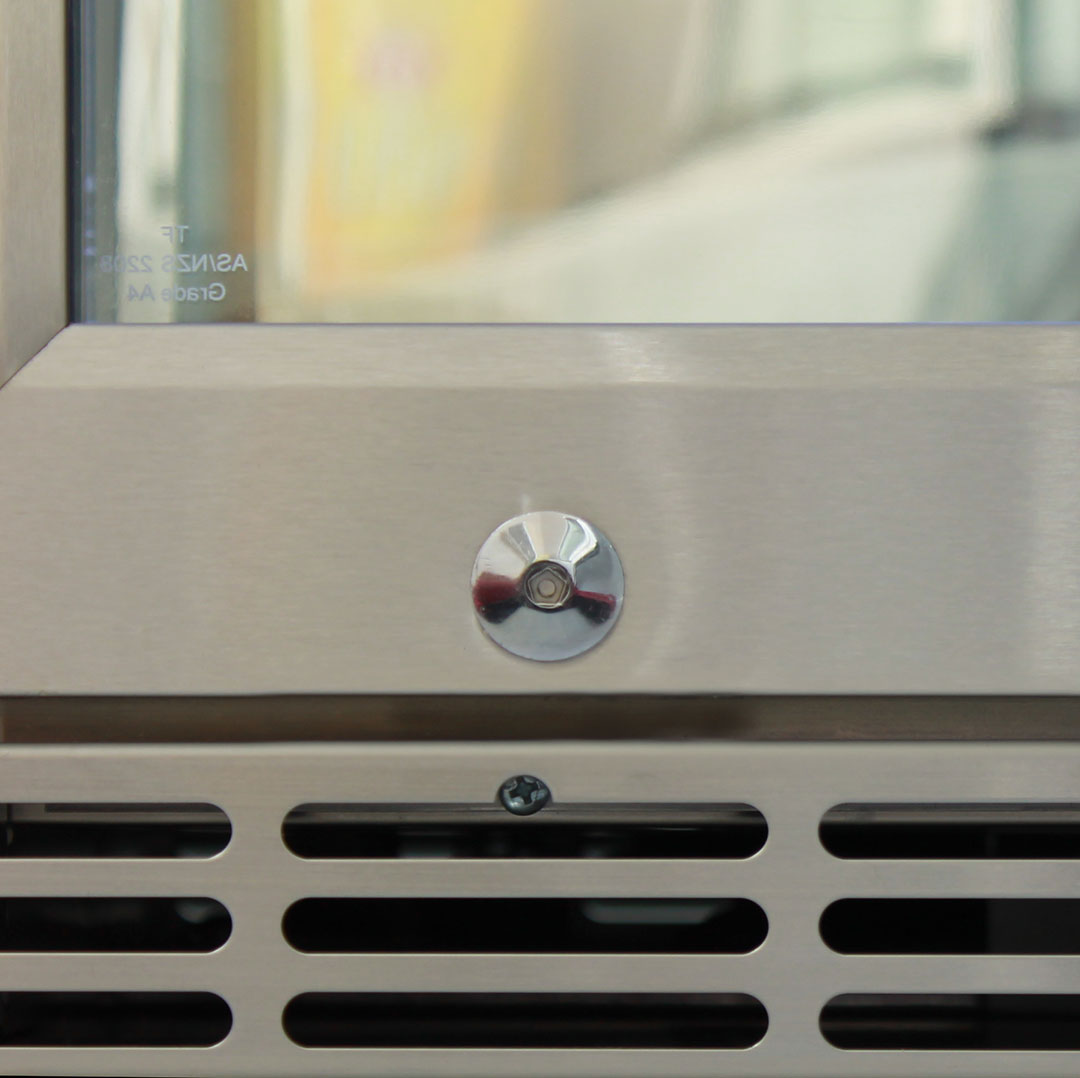Rhino Bar Fridge - Units Are Lockable To Give Cabinet Security (Kids) When Needed