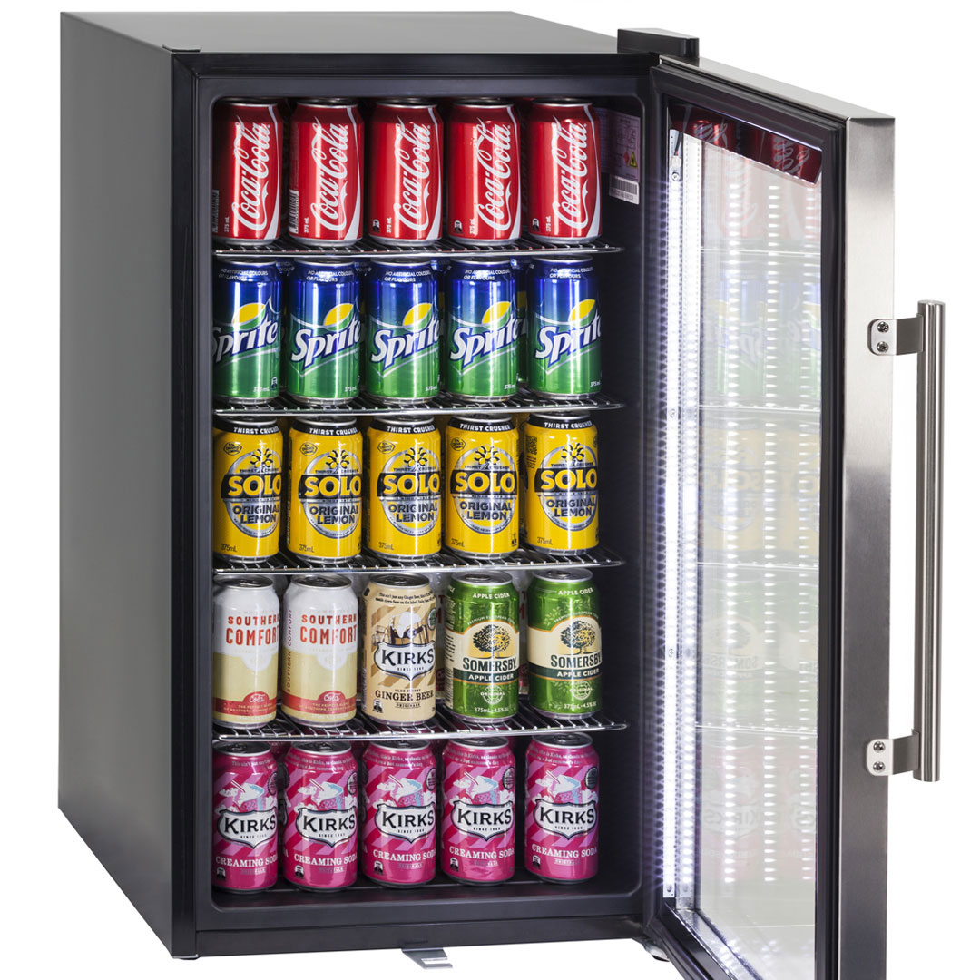 We purposely designed the inner molding to hold 5 x cans high, a great feature to maximize froffy space!