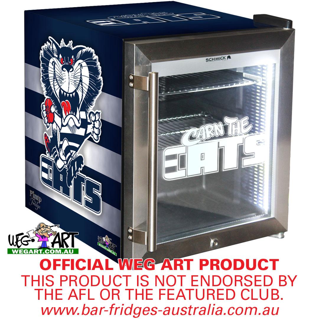 Uncategorized Kitchen Appliances Geelong geelong cats club light up logo bar fridge perfect gift idea glass door mini fridge