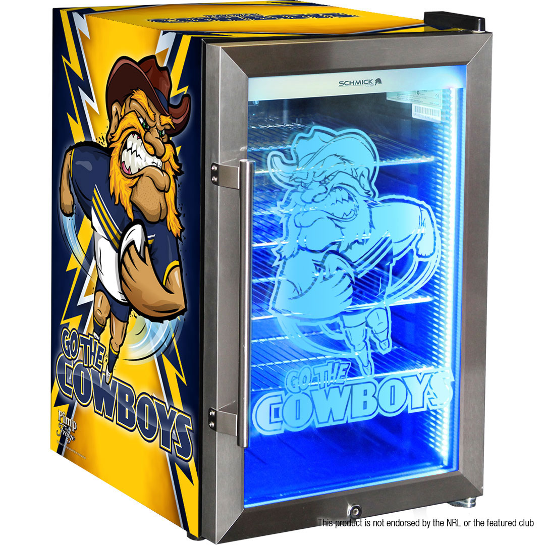 NQ Cowboys branded bar fridge, Great gift idea!  *Note