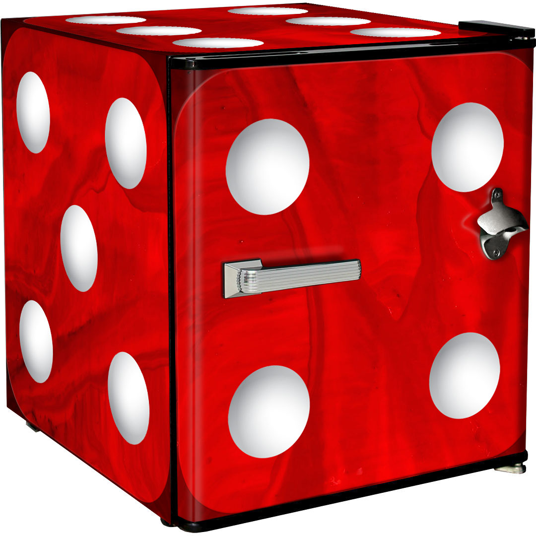 Red dice fridge
