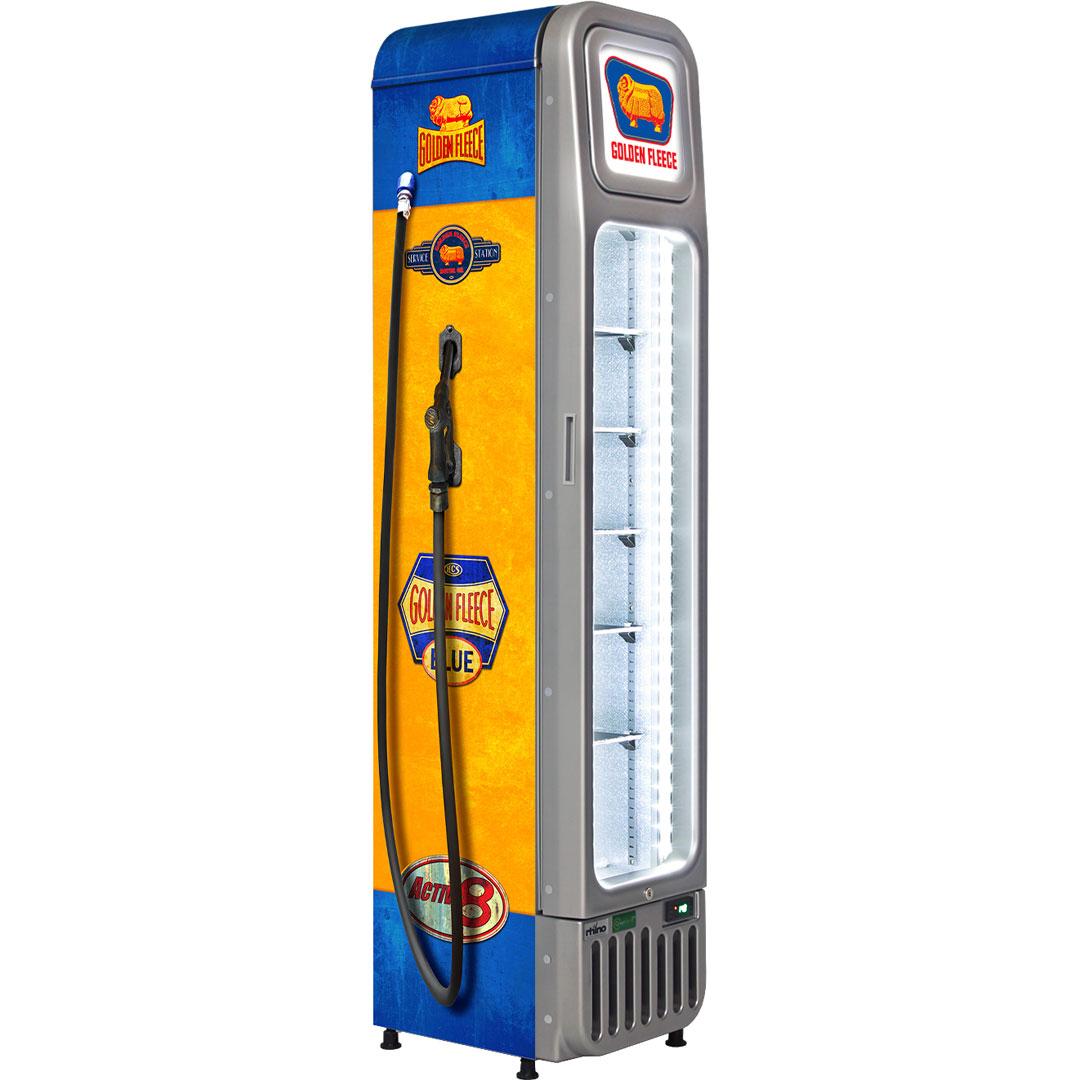 Golden Fleece fuel pump fridge