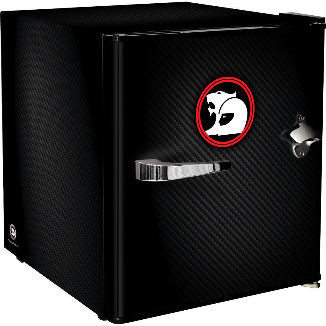 Holden HSV Retro Black Vintage Mini Bar Fridge 46 Litre Schmick Brand With Opener