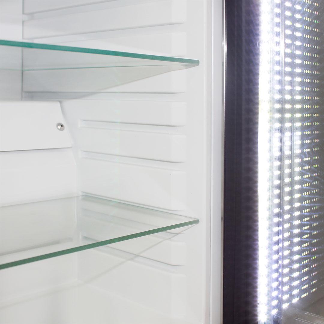 Cosmetics / Drinks Mini Bar Fridge - Many Shelf Adjustments