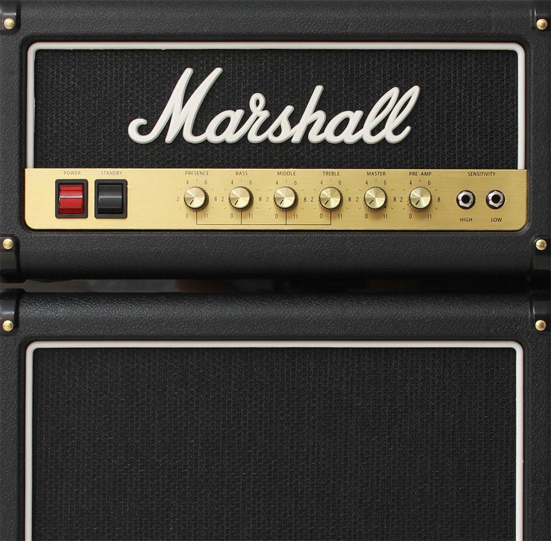 Marshall Fridge - Genuine Marshall Logo