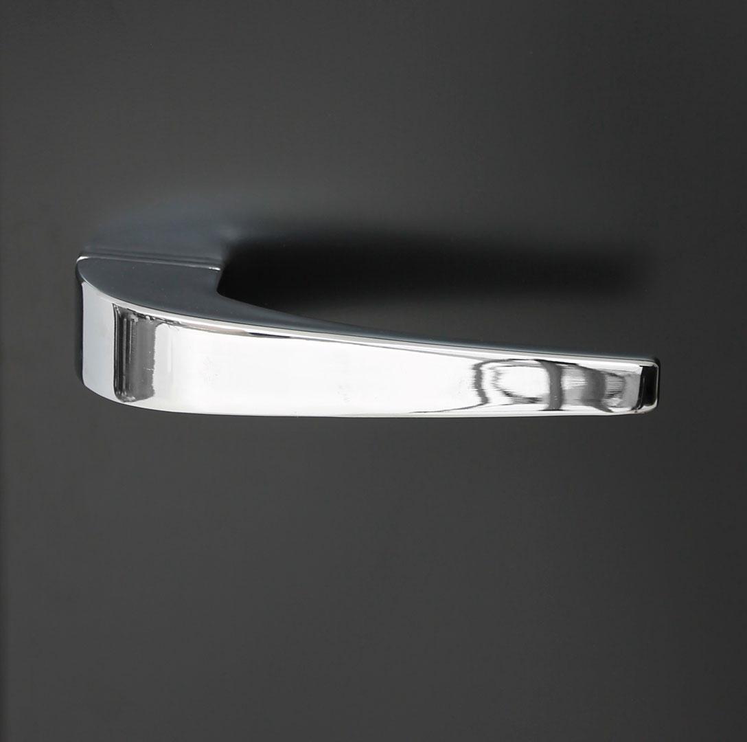 Retro Black Bar Fridge BC70 - Retro Handle