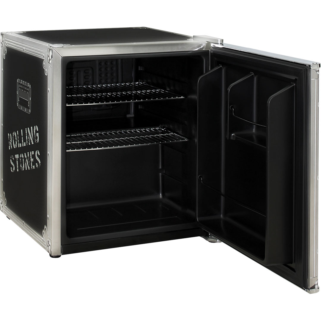 Rolling Stones Mini Bar Fridge - Great For An Old Rocker To Keep A Few Extra Beers Cool