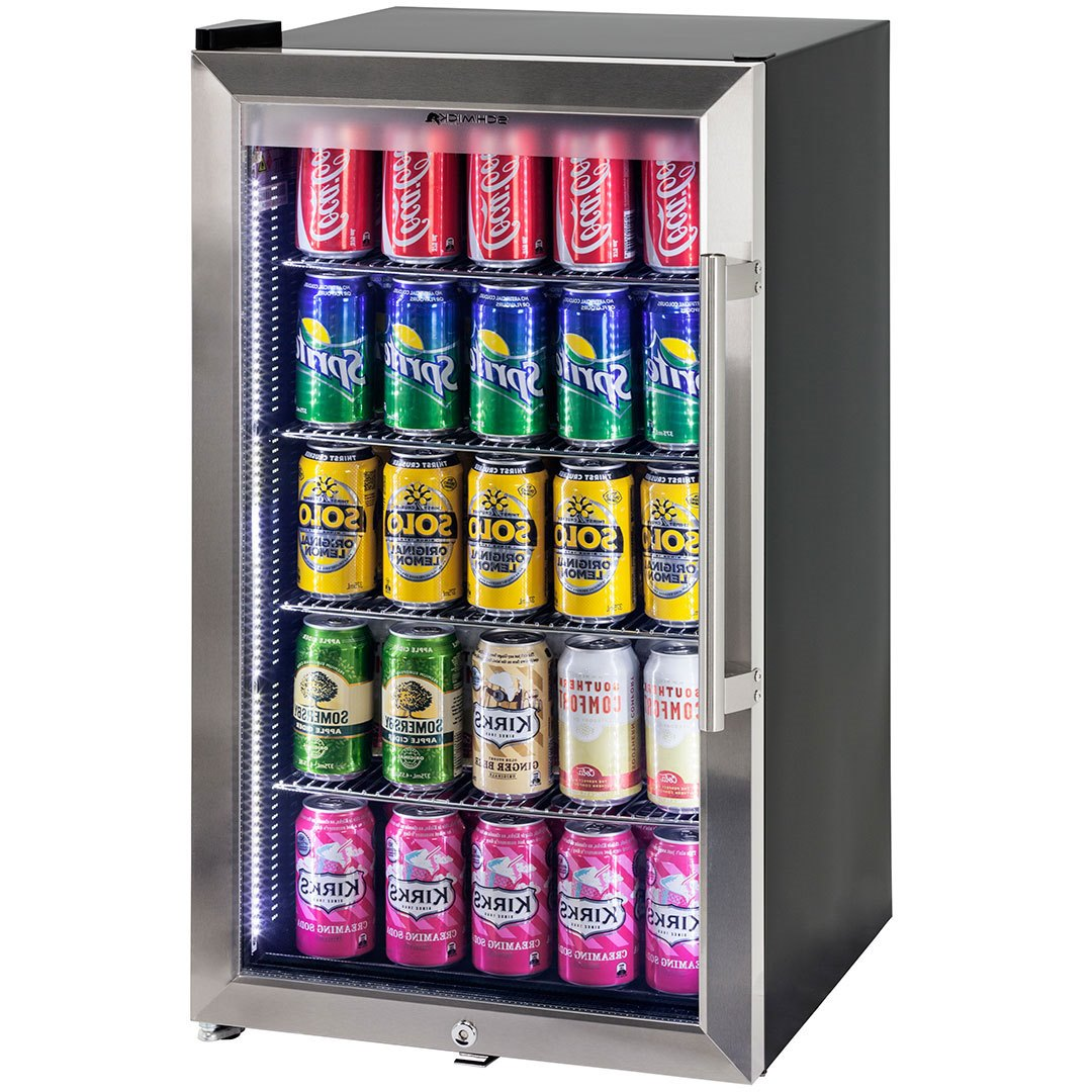 Schmick Dual Low E Glass Alfresco Bar Fridge Left Hinged