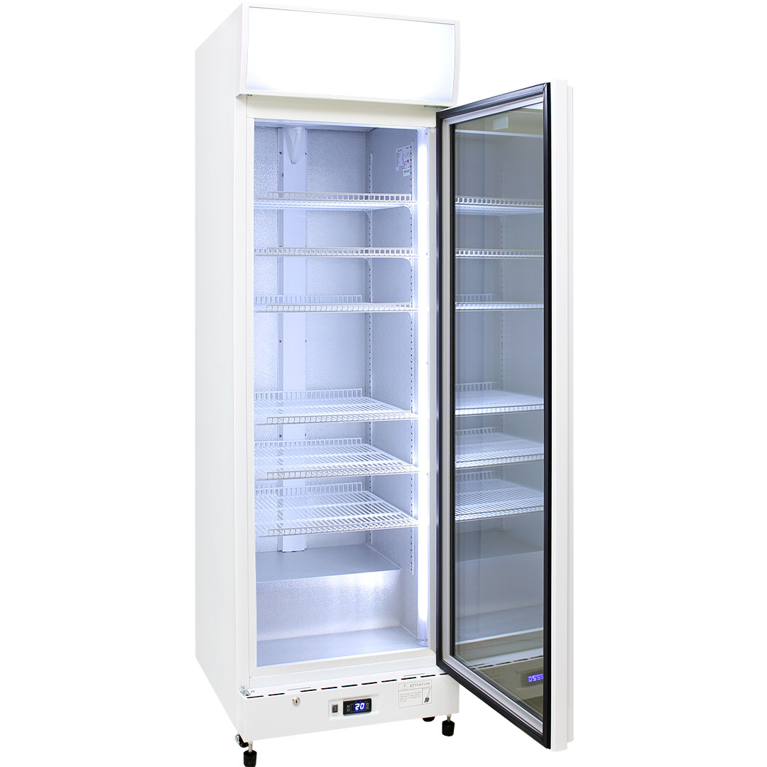 Schmick 1 Glass Door Commercial Bar Fridge - LOW E Triple Glass Helps Prevent Condensation